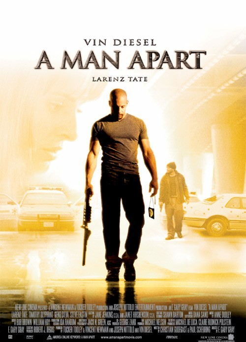 The Poster for A Man Apart