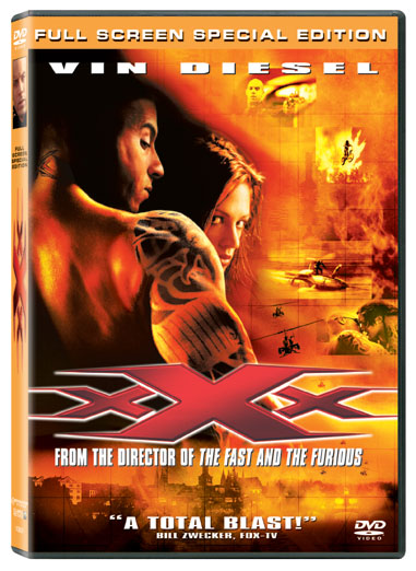 xXx DVD/Video Box Art